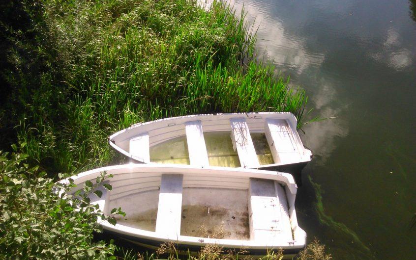 łódka wędkarska
